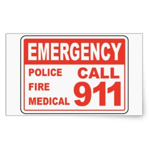 9-1-1 Stickers